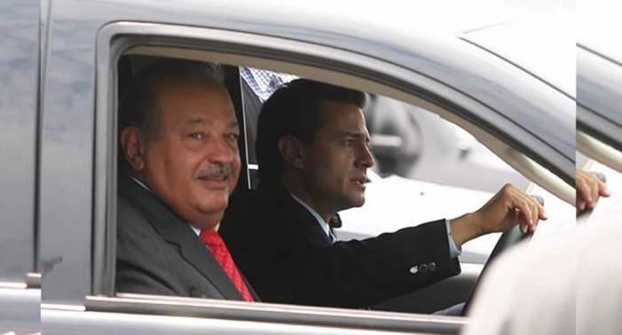 Peña Nieto, PRI, PAN y PRD hicieron reuniones secretas para acabar con Slim: NYT