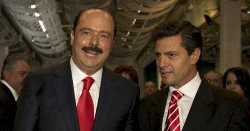 cesar duarte peña nieto Justicia de España ordena embargar