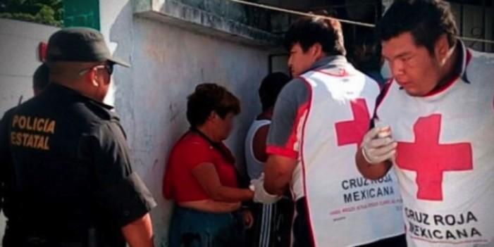 Madre e hija se machetean por una cerveza en Campeche