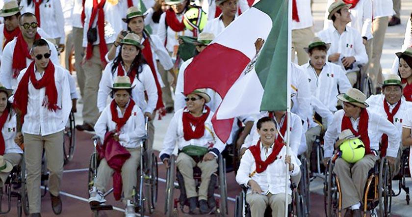 delegacion paralímpica mexico Paralímpicos de Río 2016