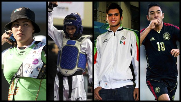 Atletas mexicanos en Río