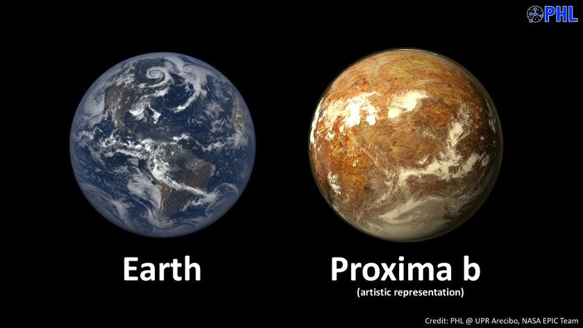 exoplaneta que podría ser la esperanza de la Tierra proxima b