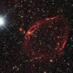 Fragmentos de la explosión de una estrella enana blanca