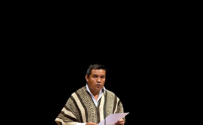 Poeta náhuatl participa en festival de Nueva York
