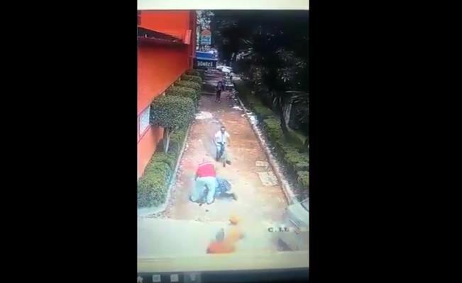 Habitantes de Tepito detienen a presunto ladrón (VIDEO)