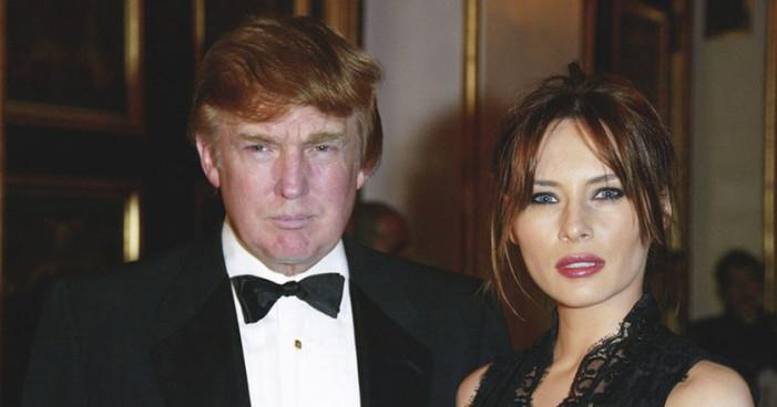 Silvio Berlusconi dijo que lo que más le gusta de Trump, es su esposa Melania