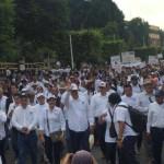 Marchan miles en Cuernavaca para exigir la destitución de Graco Ramírez