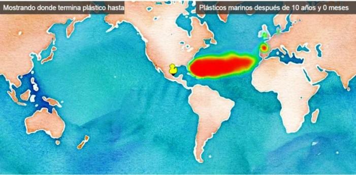Dónde estará la bolsa de plástico que tiramos hoy