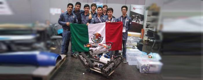 Mexicanos ganan el primer lugar en RoboCup 2016