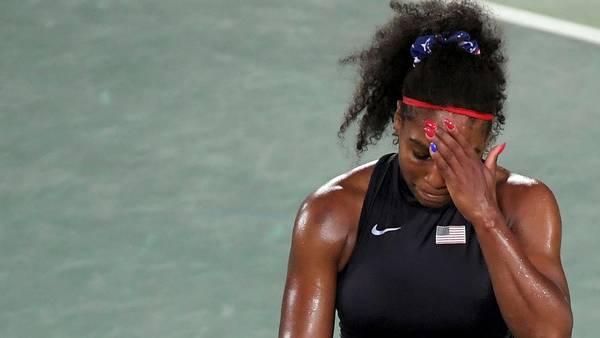 Serena Williams, la número uno eliminada de Río 2016
