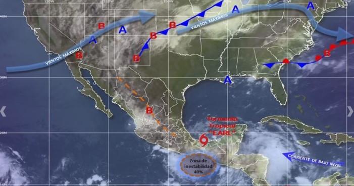 'Earl' podría hoy ingresar otra vez a Veracruz