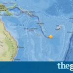 Terremoto de 7.6 grados provoca alerta de tsunami en el Pacífico sur