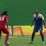 Anota impresionante gol sin usar la vista en Paralímpicos de Río 2016