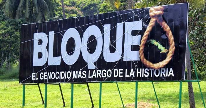 Bloqueo a Cuba le costó 4,680 mdd tan sólo el último año