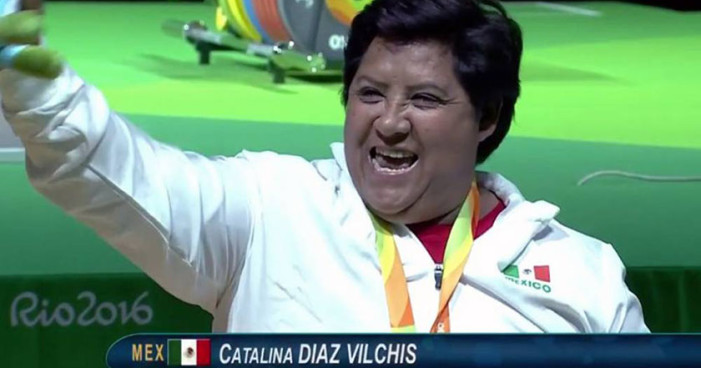 Catalina Díaz obtiene bronce para México en 'powerlifting'