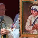 Papa Francisco declara santa a la Madre Teresa de Calcuta