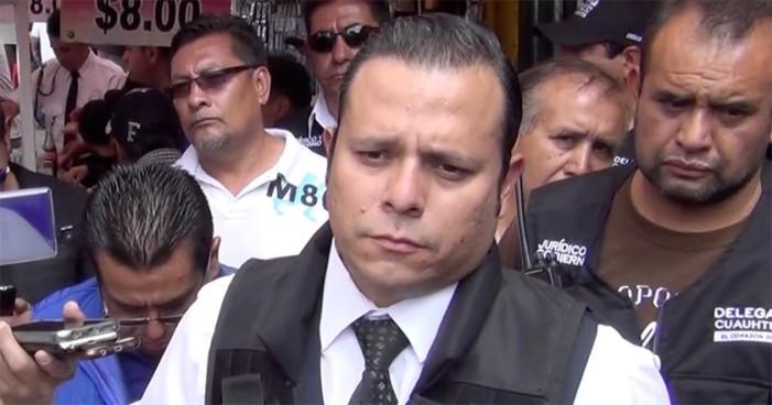 Pedro Pablo de Antuñano renuncia como funcionario de la Cuauhtémoc