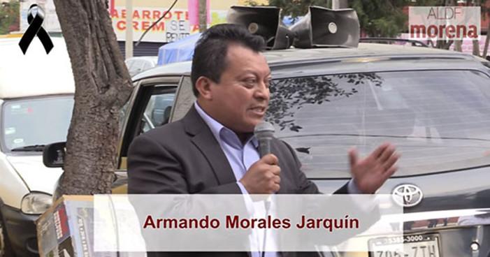 Detienen a presunto asesino del militante de Morena en GAM