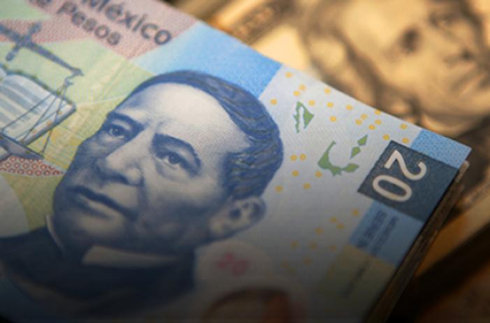 Dólar está en 19.75; peso cae a su peor nivel desde marzo