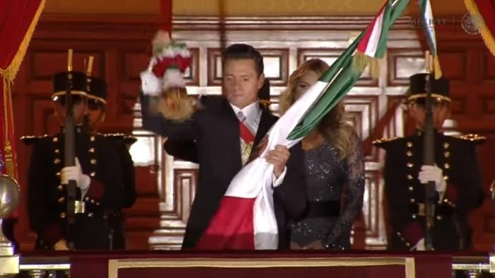 Ceremonia del Grito de Independencia en el Zócalo (En vivo)