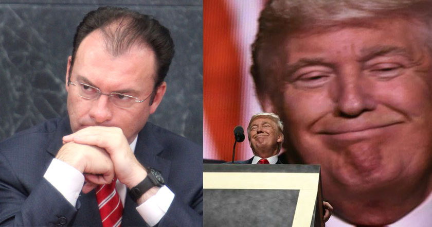 luis videgaray renuncia donald trump