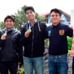 Estudiantes de la UNAM ganan tres medallas de oro en concurso Iberoamericano de Matemáticas