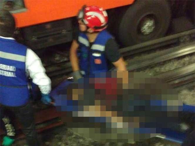 Joven de 25 años muere al caer a las vías del metro San Lázaro