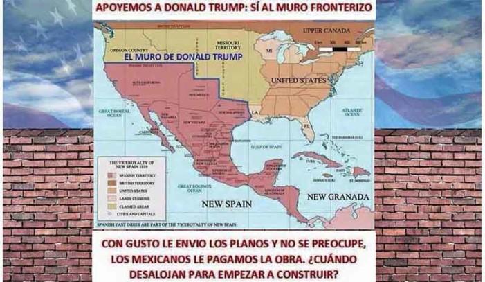 El muro fronterizo que los mexicanos sí pagarían