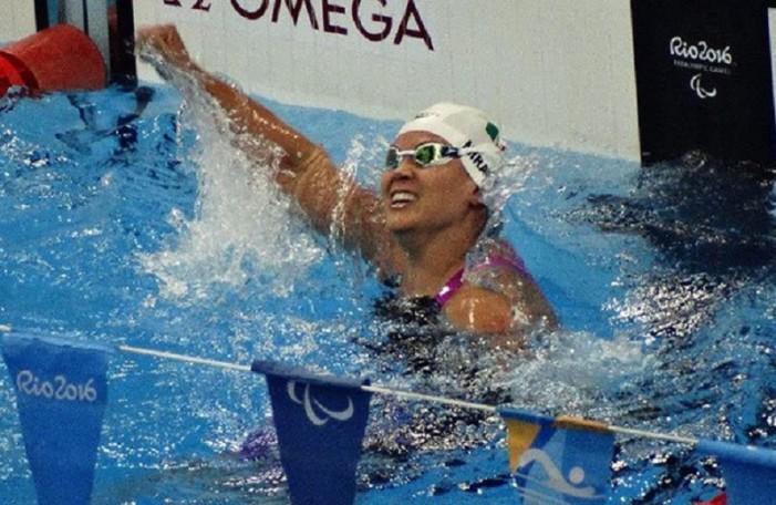 Nely Miranda, la abanderada de la delegación mexicana ganó bronce