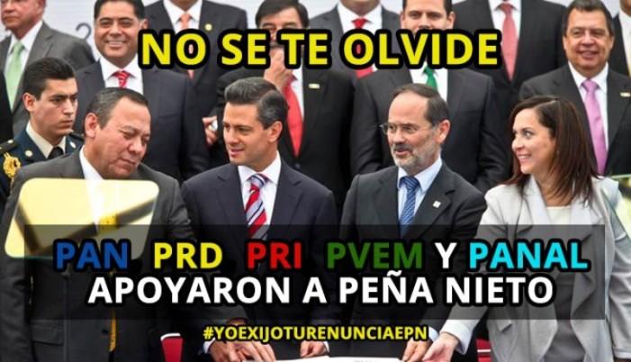 Contra la #LeyDeCuates de los partidos del Pacto por México