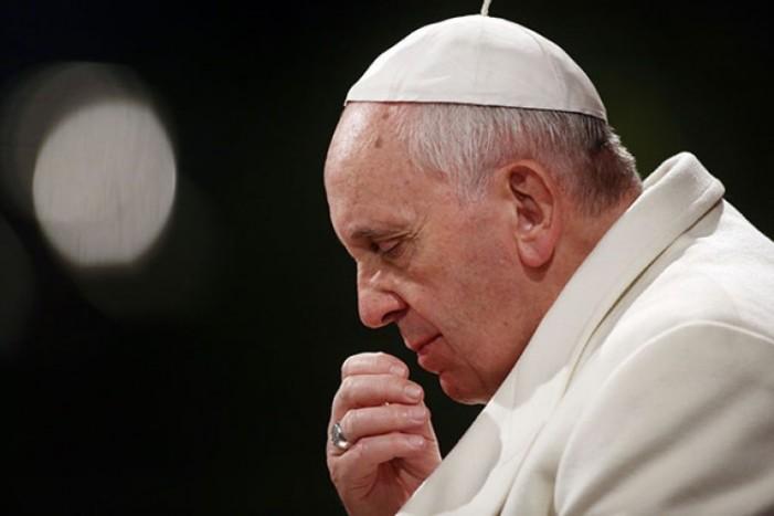 Papa Francisco preocupado tras reconocer Trump a Jerusalén como la capital de Israel