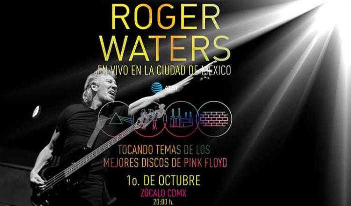Roger Waters ofrecerá concierto gratuito en el Zócalo de la Ciudad de México