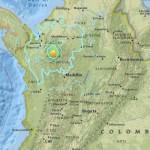 Sismo de 6.1 sacudió Colombia