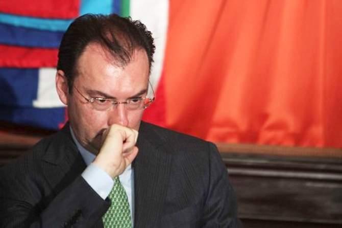 ¡Confirmado! renuncia Videgaray a la Secretaría de Hacienda