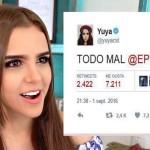 'Todo mal EPN': Yuya