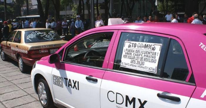 'Diálogo con Segob o paro nacional' advierten taxistas