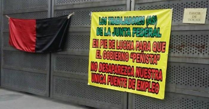 'Nos van a despedir en la junta de Conciliación': Trabajadores