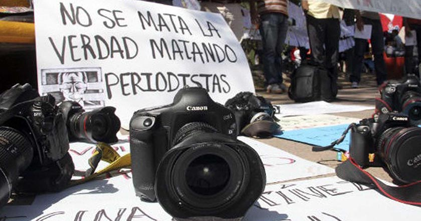 2016 periodistas periodista medio agredido México