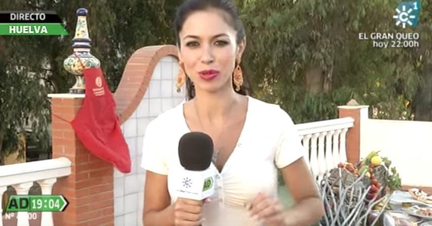 Carolina Cambrils Canal Sur despide reportera embarazada