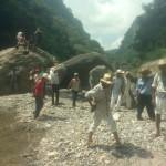 Pobladores protestan contra hidroeléctrica en Zapotitlán