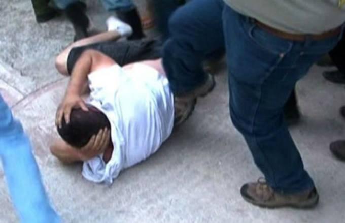 Ladrón a punto de ser linchado en Ixmiquilpan