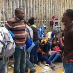 Desalojan a haitianos en Tijuana para recibir deportados mexicanos