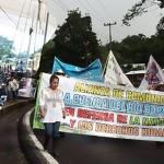 Pobladores declaran municipio libre de proyectos de muerte