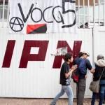 Porros atacan a estudiantes paristas de Voca 5