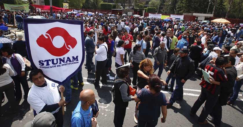 STUNAM propone aceptar incremento 3.08 salario