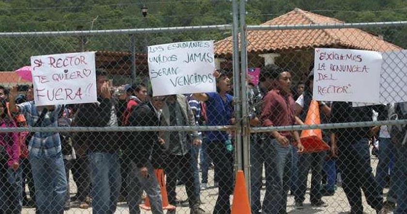 Universidad Intercultural de Chiapas unich en paro de labores