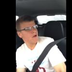 Joven graba sin querer su accidente automovilístico (video)