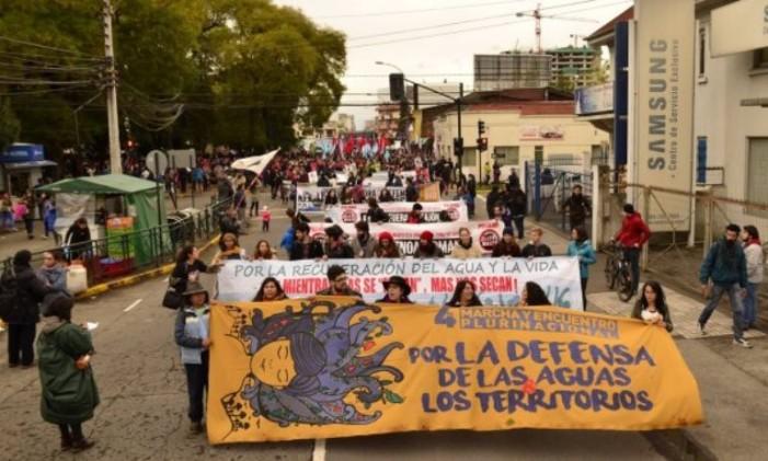Geopolítica: energía, agua, territorio