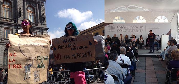 Morena contra privatización del agua, lo quiere elevar a derecho humano en la Cd. de México