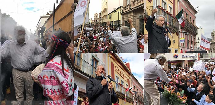 López Obrador pide que se investigue la riqueza de Vicente Fox